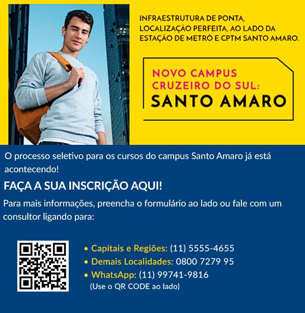 Novo Campus Cruzeiro do Sul Santo Amaro